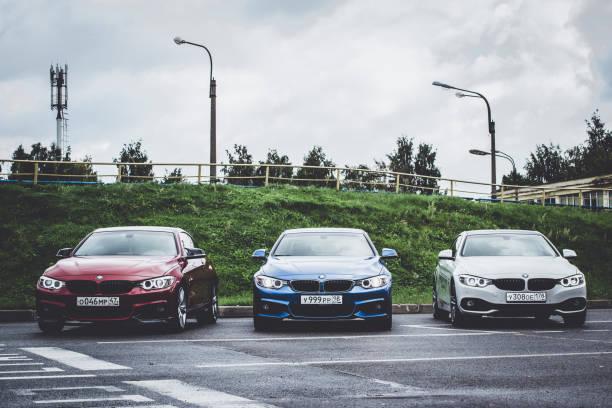 Cars BMW 4-series, German Bavarian manufacturer stock photo