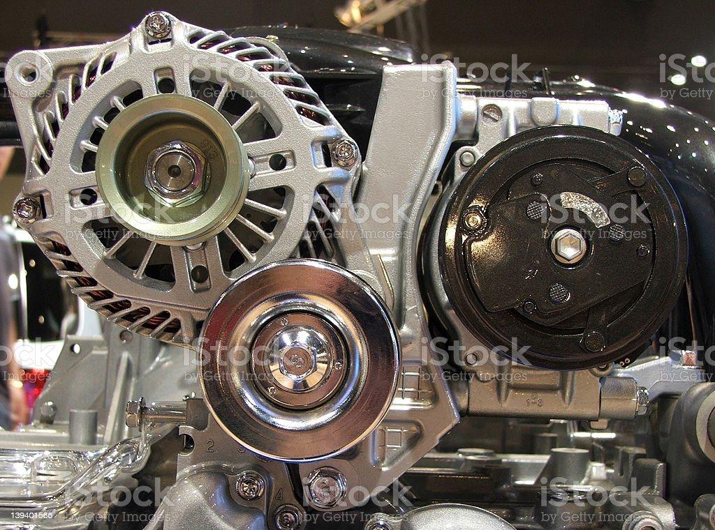 Cars - Engine stock photo
