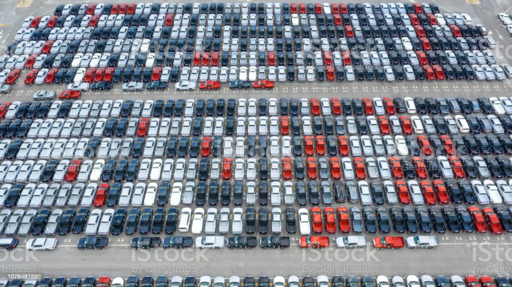 Cars Export Terminal In Export And Import Business And