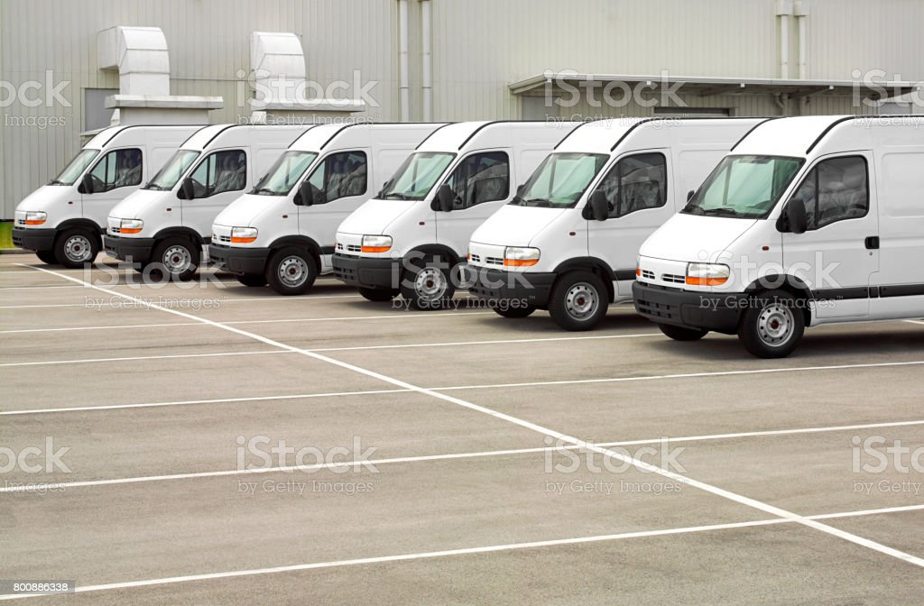 cars fleet stock photo