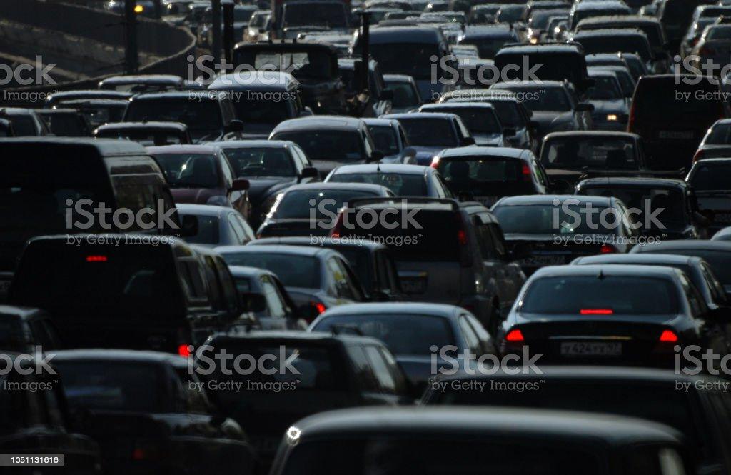 Autos in der Stadt – Foto