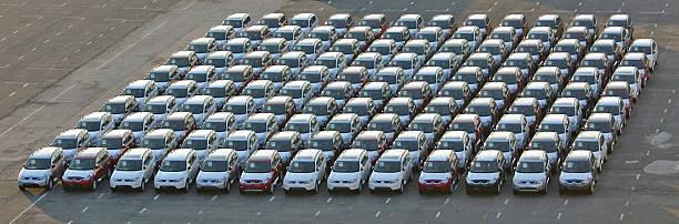 Cars stock photo