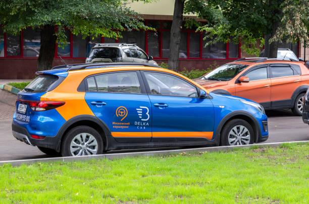 Carsharing Belka Auto Kia Rio Schrägheck geparkt – Foto