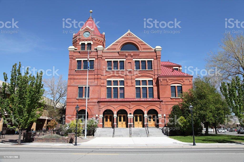 Carson City Nevada royalty-free stock photo