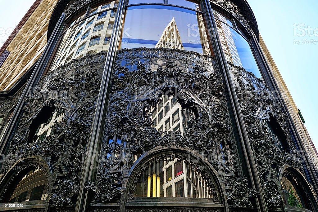 Carson Pirie Scott magasin architecture de Chicago - Photo