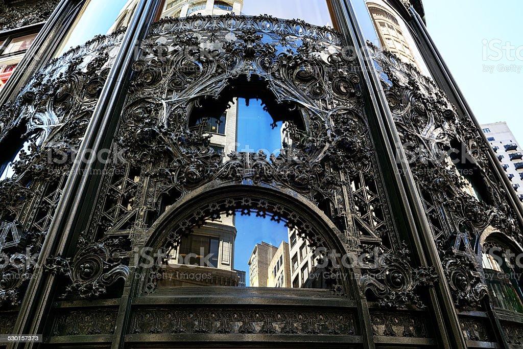 Carson Pirie Scott magasin en fer forgé à Chicago - Photo