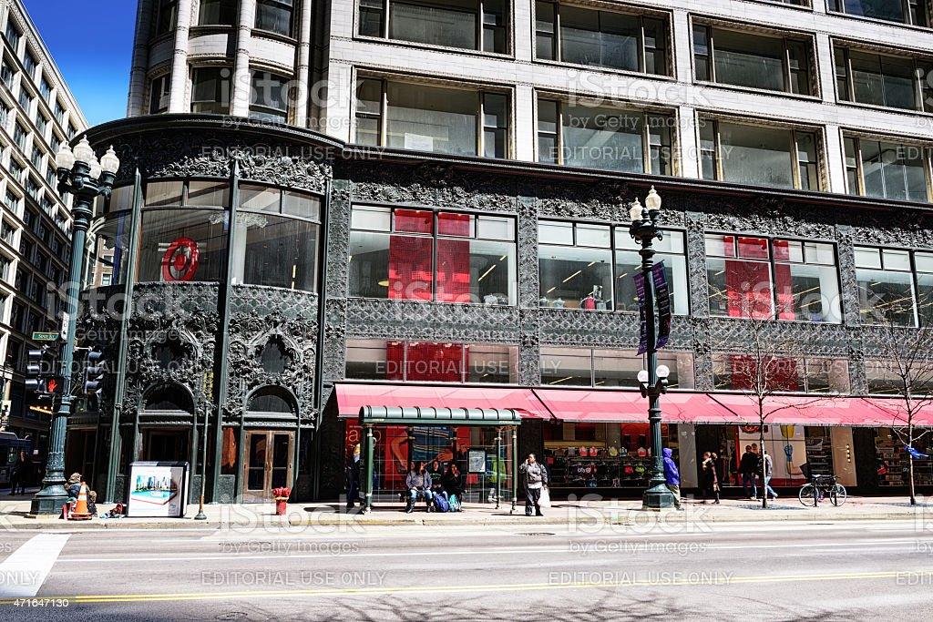 Carson Pirie Scott magasin, sur State Street à Chicago, - Photo