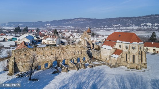 Carta, Romania. The old ruined cistercian abbey from Transylvania