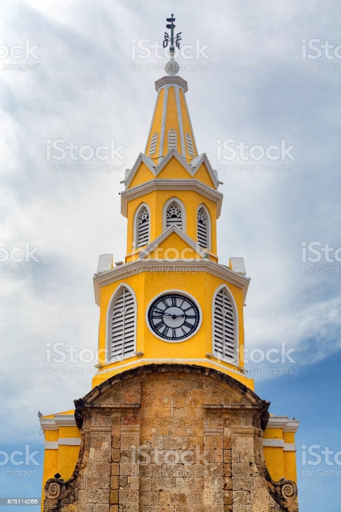 Cartagena Clock Tower stock photo