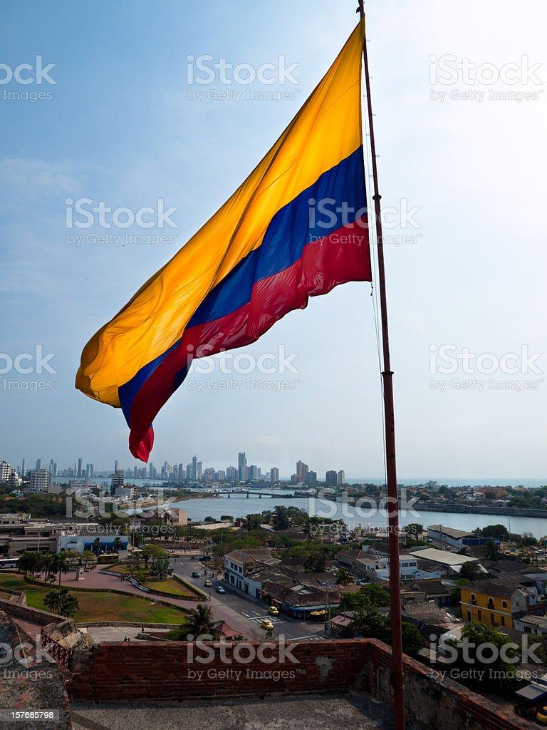 Cartagena de Indias, Colombia Castillo de San Felipe de Barajas - foto de stock