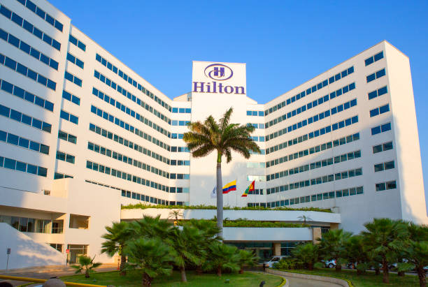 Cartagena, Kolumbien, Hilton Hotel. – Foto