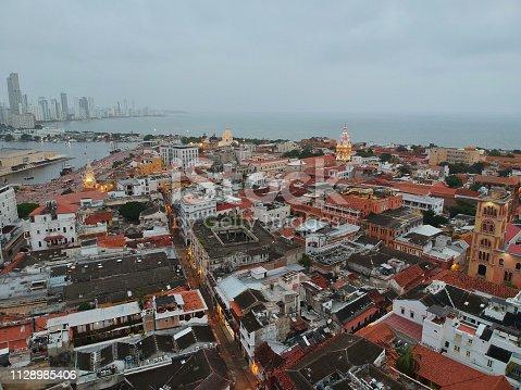 1148861090istockphoto Cartagena de Indias walled city 1128985406