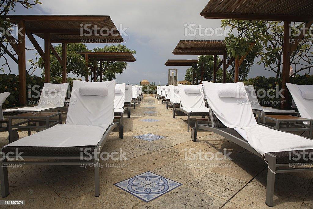 Cartagena: Luxury Hotel royalty-free stock photo