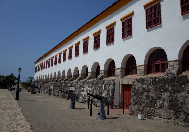 cartagena naval museum, colombia - cartagena museum stock photos and pictures