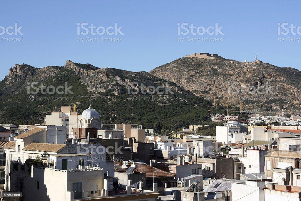 Cartagena royalty-free stock photo