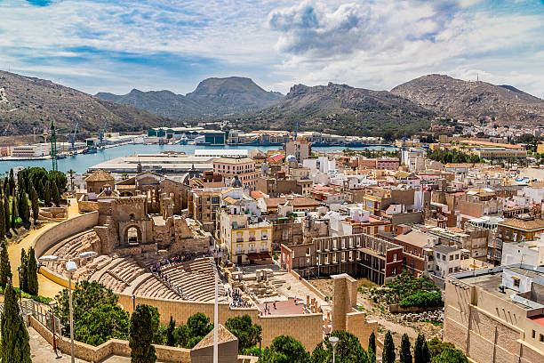 Cartagena, Spain stock photo