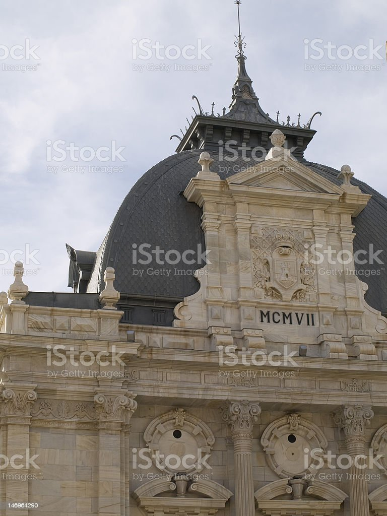 Cartagena town council royalty-free stock photo