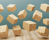 istock Cartboard boxes 1058767914