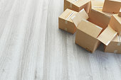 istock Cartboard boxes 1059777984