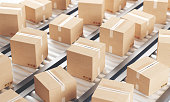 istock Cartboard boxes 1223800865