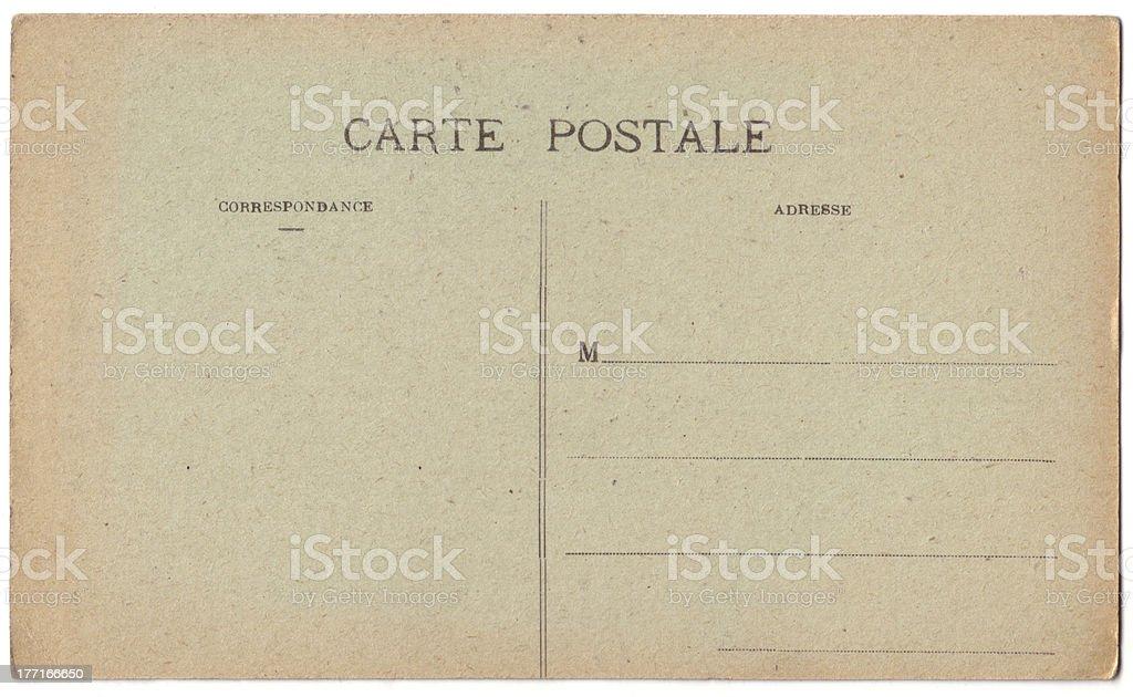 carte postale royalty-free stock photo