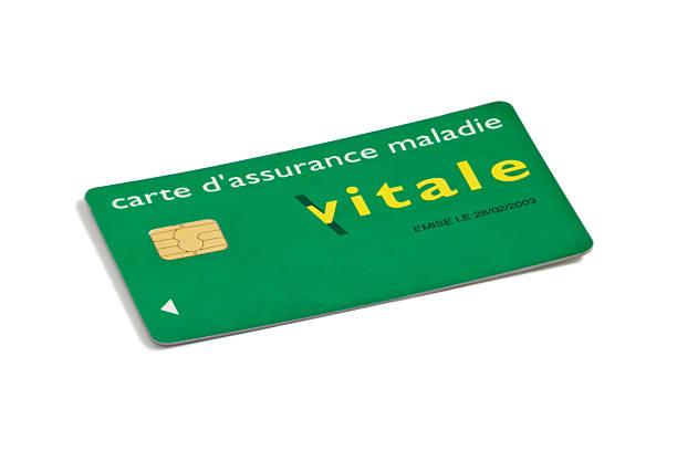 Carte Vitale Photo.Carte Vitale On White Background Stock Photo Download