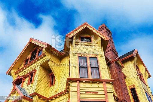 Carter House Inns exterior view. - Eureka, California, USA - 2021