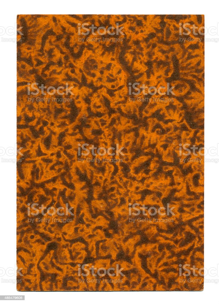 Marbled back design Belgian playing cards cartes marbrees stock photo