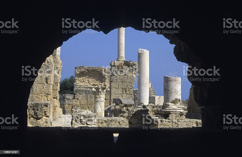 Carthage stock photo
