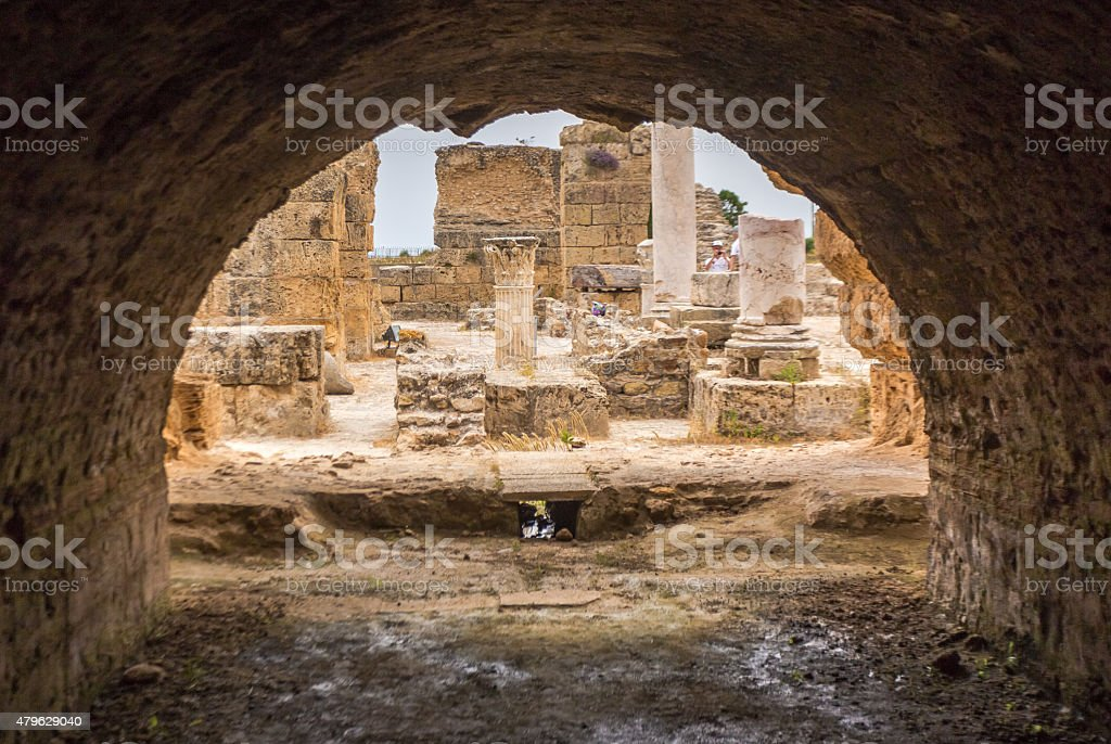 Carthage, Tunisia stock photo