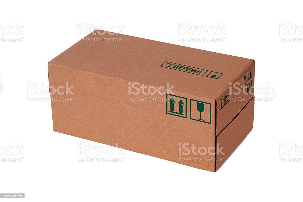 Carton box royalty-free stock photo