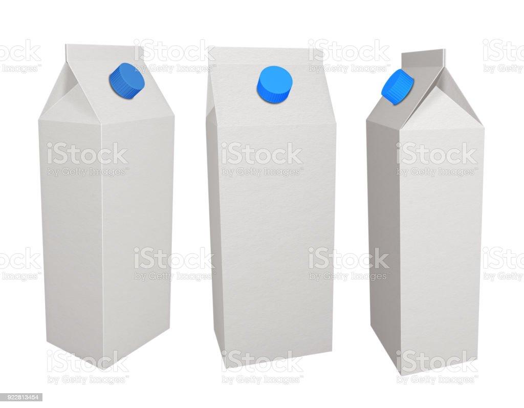 Caixas de caixa de leite - foto de acervo