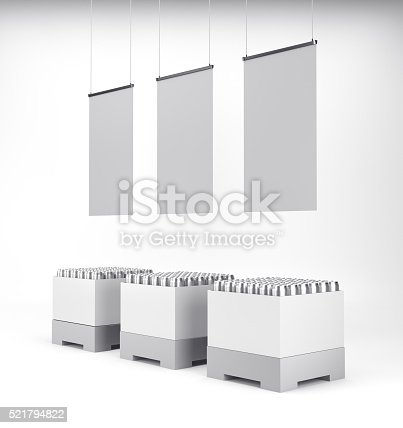 istock cartonboard container with cans 521794822