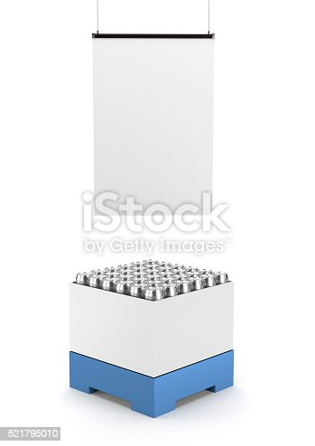 istock cartonboard container with cans 521795010