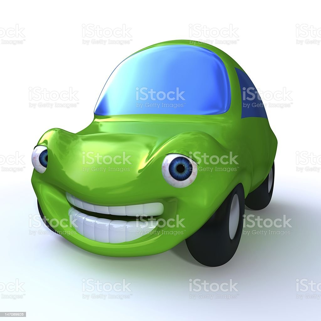 Cartoon Car 3d Green Stock Photo Download Image Now Istock