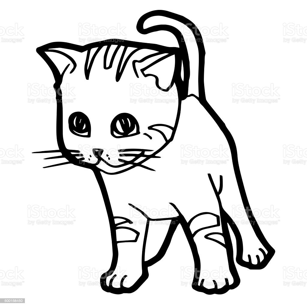 Disegno Gatto A Cucu Da Colorare Migliori Pagine Da Colorare