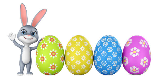 Cartoon character bunny and colorful eggs on white background 3d picture id1166399088?b=1&k=6&m=1166399088&s=612x612&w=0&h=46wfttw2xbtifdq5zxl9sv1g3sgvijsn fnsmzlbdry=