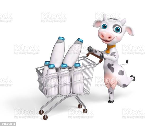Cartoon character cow running with shopping cart 3d rendering picture id938242646?b=1&k=6&m=938242646&s=612x612&h=yohdlqomsb7irlnchtrdjb4z4joa4poeouleqoujcoe=