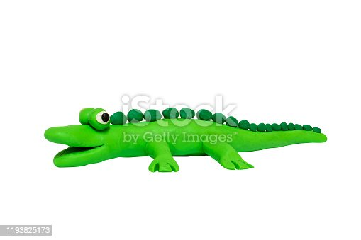 istock Cartoon characters,alligator isolated on white background with clipping path. 1193825173