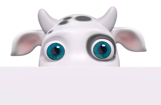 Cartoon cow looking out with poster 3d rendering picture id946945304?b=1&k=6&m=946945304&s=612x612&w=0&h=m2lzibqoxikxc3rzlz96te 52ot61xdp9qelpmj2nyq=