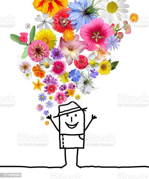 Cartoon man throwing up a colorful flowers set picture id1074689960?b=1&k=6&m=1074689960&s=612x612&h=ccwt0ecowvwtm8x3wojg6dywxboosswkg6lajt6koj8=