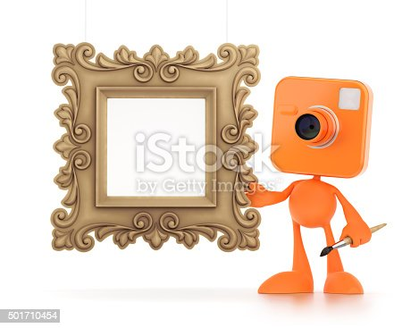 istock Cartoon Photographer 501710454