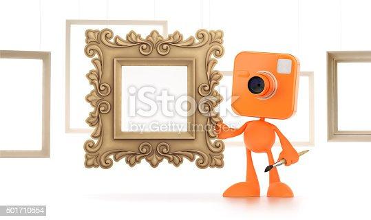 istock Cartoon Photographer 501710554