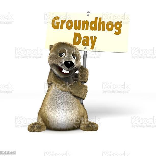Cartoon woodchuck holding groundhog day sign picture id95919753?b=1&k=6&m=95919753&s=612x612&h=u5mgsspqqy8wqnxr5uxsqoegv3prqjpvfkuhfgx9nu0=