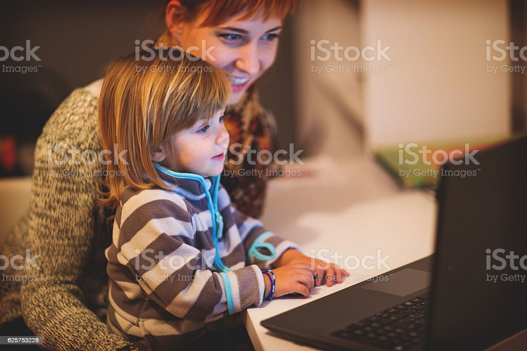 Cartoons are the best! stock photo