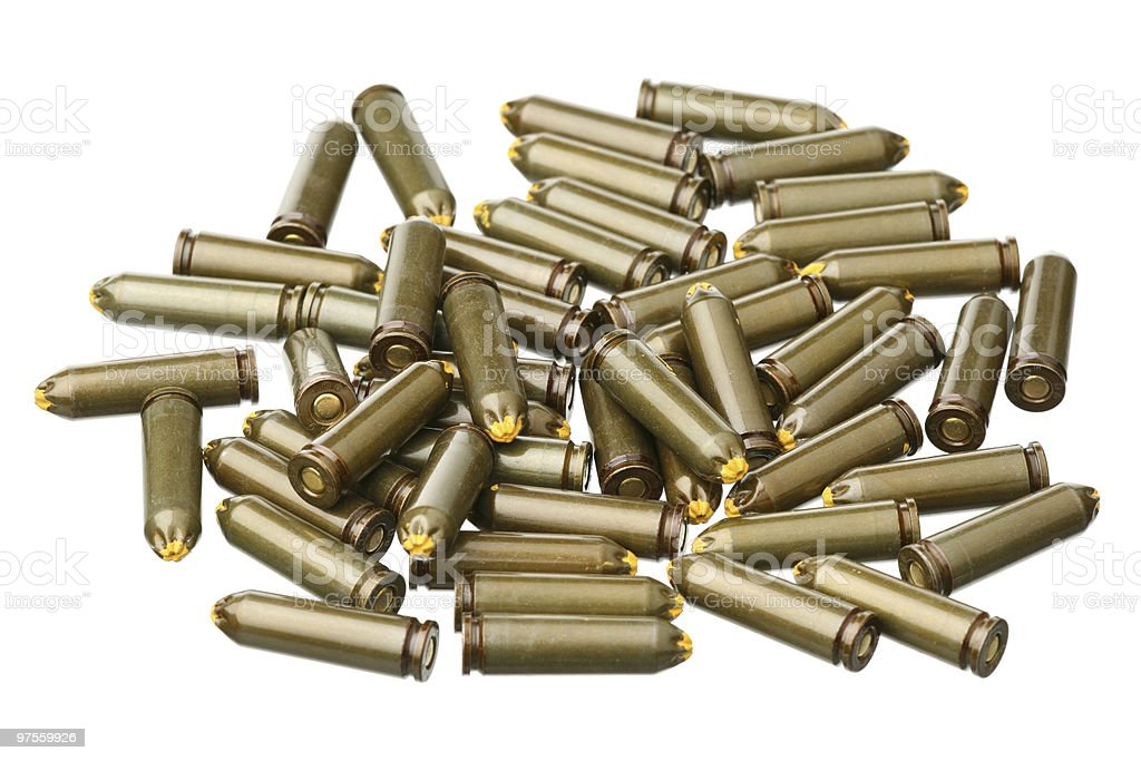 Cartridges royalty-free stock photo
