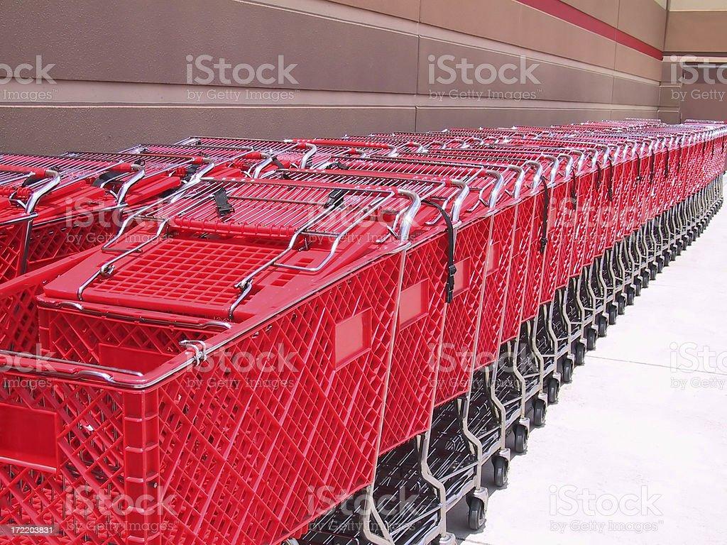 Carts - front royalty-free stock photo