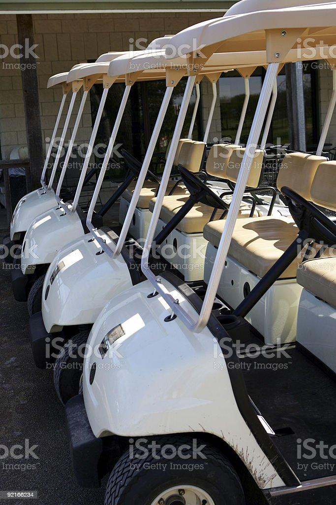 Carts stock photo