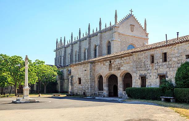 cartuja de miraflores monasterio de burgos - burgos fotografías e imágenes de stock