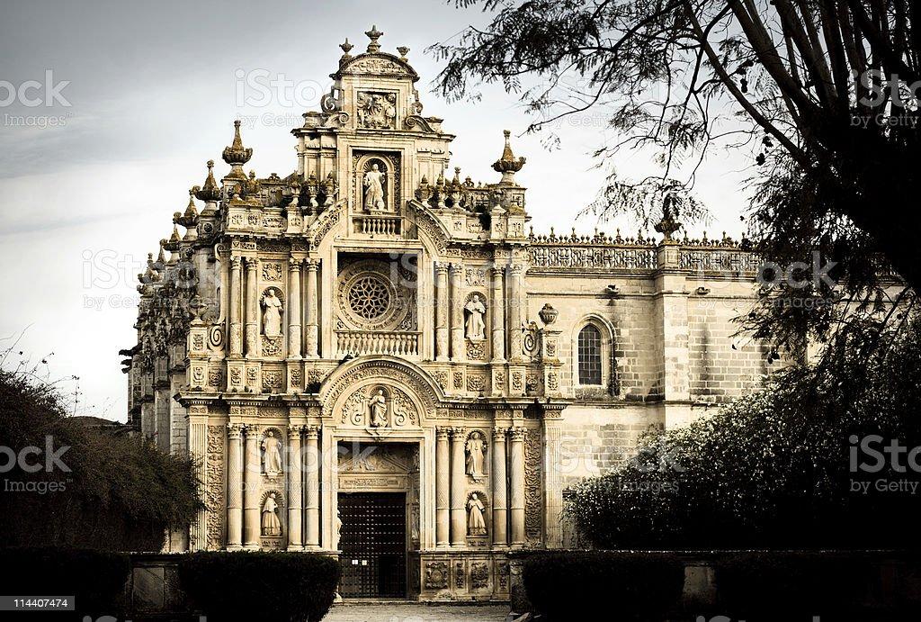 Cartuja Monastery stock photo